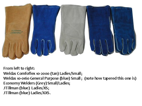 "These are all ""small"" gloves marketed for women or small hands."